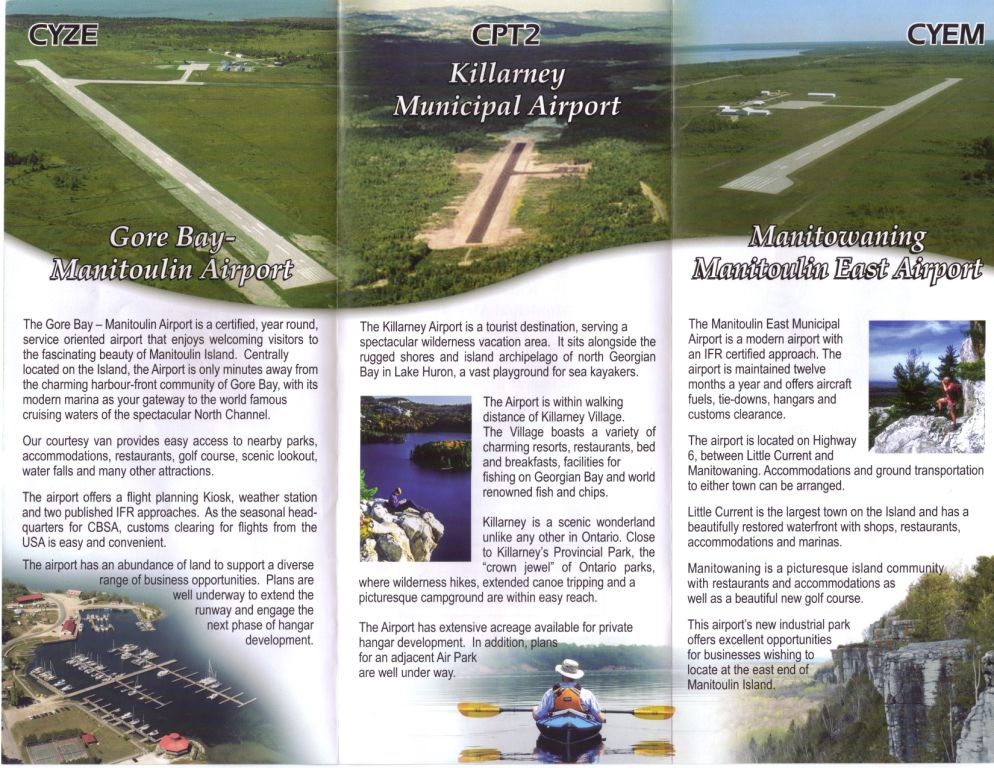 Georgian Bay Airports